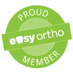 Easy Ortho Membership Badge - Your local orthodontists